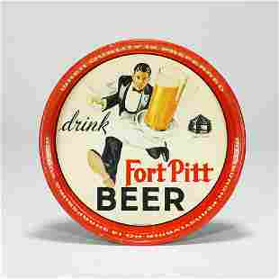 Fort Pitt Running Waiter Tip Tray