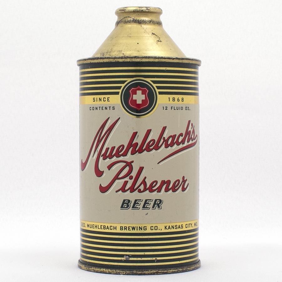 Muehlebach Pilsener Cone Top Beer Can USBC 174-12
