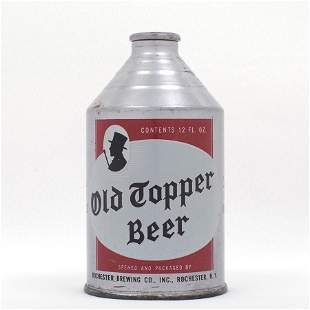 Old Topper Beer Crowntainer Cone Top USBC 1984