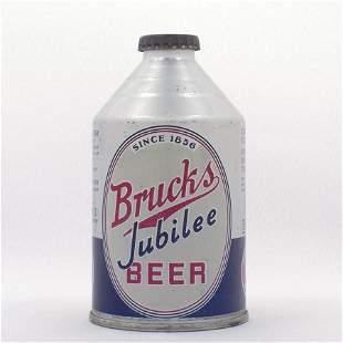 Brucks Jubilee Beer Crowntainer Cone Top USBC 19221