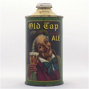 Old Tap Ale Low Profile Cone Top Can USBC 178-1