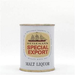 Heilemans Special Export Malt Liquor 8oz Flat Top USBC