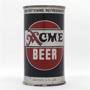 Acme Beer Flat Top Can USBC 2822