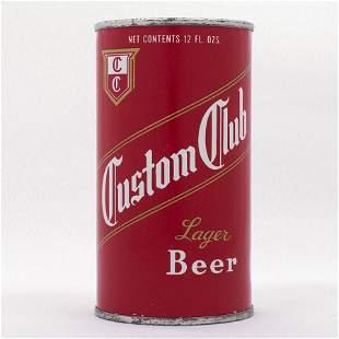 Custom Club Beer Flat Top Can USBC 532