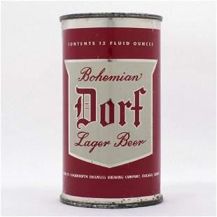 Dorf Beer Flat Top Can USBC 5422