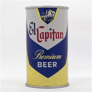 El Capitan Beer Flat Top Can USBC 5918
