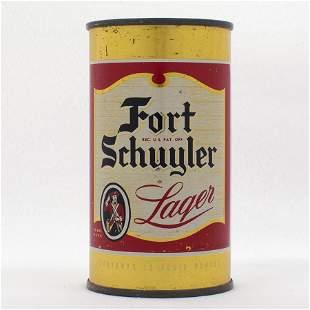 Fort Schuyler Beer Flat Top Can USBC 6430
