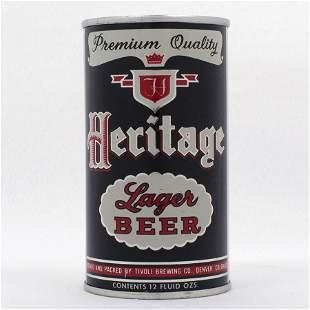 Heritage Beer Tivoli Flat Top Can USBC 8133