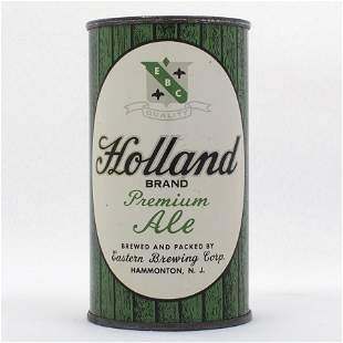 Holland Ale Flat Top Beer Can USBC 836