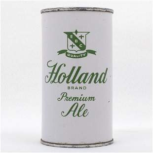 Holland Ale Flat Top Beer Can USBC 837