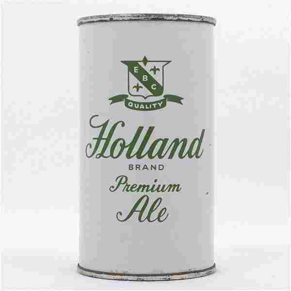 Holland Ale Flat Top Beer Can USBC 83-7