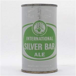 International Silver Bar Ale Flat Top USBC 8517