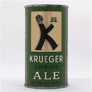 Krueger Cream Ale Medium Opener Flat Top USBC 8927