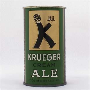 Krueger Cream Ale Small Opener Flat Top USBC 8927
