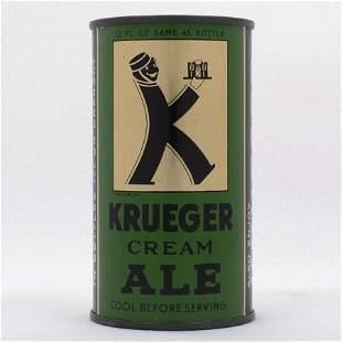 Krueger Cream Ale Instructional Flat Top USBC 8928