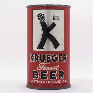 Krueger Finest Beer Flat Top Can USBC 9011