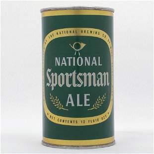 National Sportsman Ale Flat Top Can USBC 10221