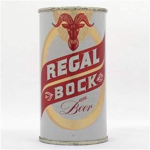 Regal Bock 11oz Flat Top Beer Can USBC 12115