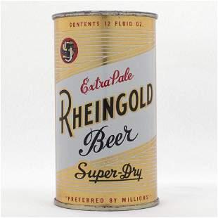 Rheingold Beer Flat Top Can USBC 1234