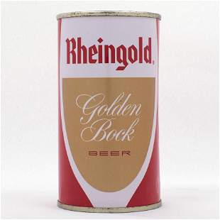 Rheingold Golden Bock Flat Top Can USBC 12419
