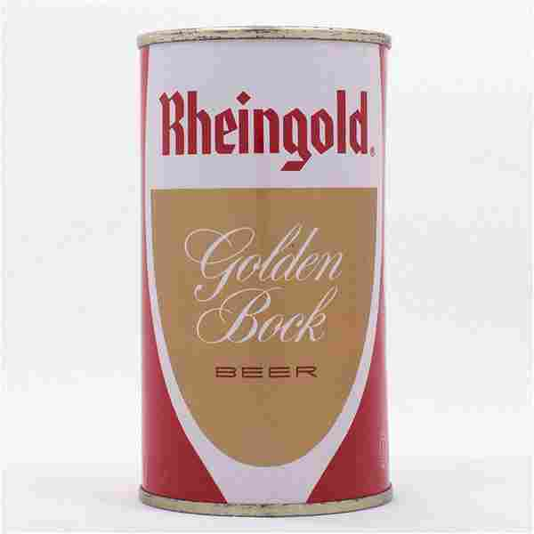 Rheingold Golden Bock Flat Top Can USBC 124-19