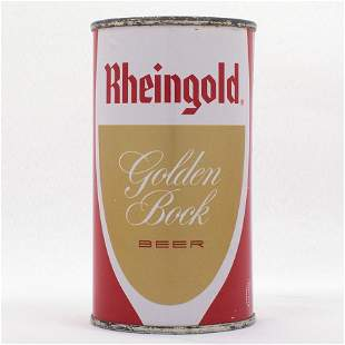 Rheingold Golden Bock Flat Top USBC 12423