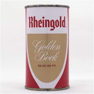 Rheingold Golden Bock Flat Top USBC 12318