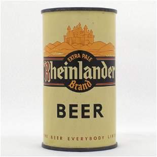 Rheinlander Beer Instructional Flat Top USBC 12424