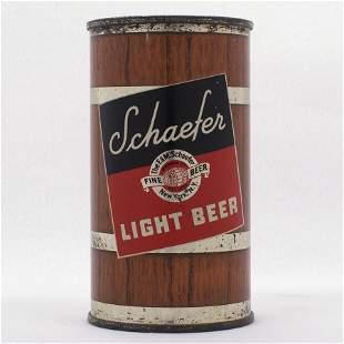 Schaefer Light Beer Flat Top Can USBC 12738