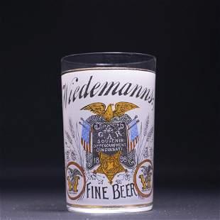 Wiedemann GAR 1898 Souvenir Pre-Pro Etched Glass