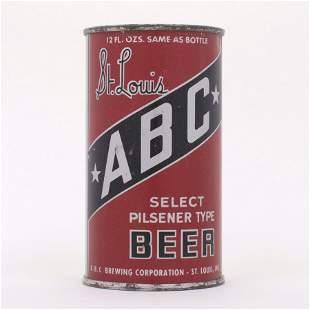 ABC St. Louis Select Pilsener Beer OI 4