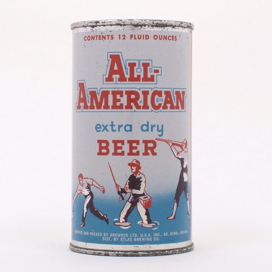 All-American Extra Dry Beer 29-28