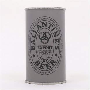 Ballantines Beer DULL GRAY TEST