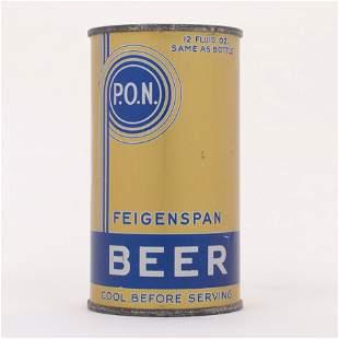 Feigenspan PON Beer Can 634