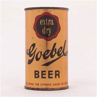 Goebel Extra Dry Beer Can 7035