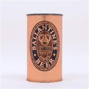 Ballantines Beer 18401940 Flat Top 3327