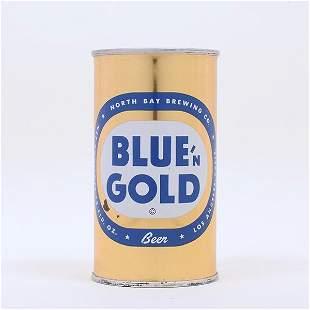 Blue n Gold Beer Flat Top 3936