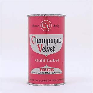 Champagne Velvet Beer Red Set Can Flat Top 495