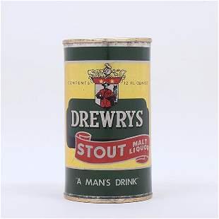 Drewrys Stout Malt Liquor Flat Top 5522