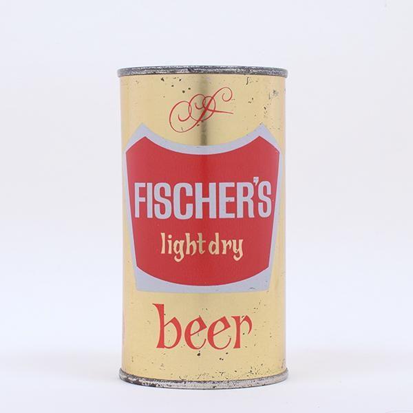 Fischers Light Dry Beer Flat Top 63-29