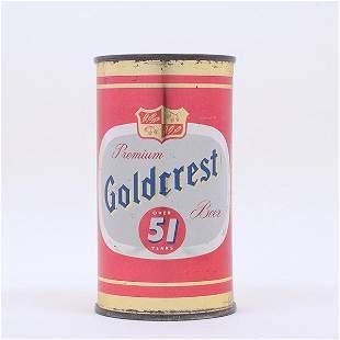 Goldcrest Beer Lederer Flat Top 7135
