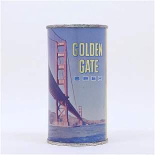 Golden Gate Beer 11 OZ Flat Top Can 7239