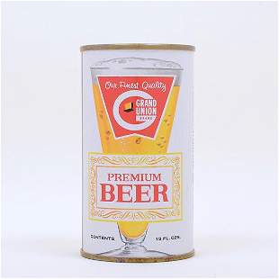 Grand Union Beer Flat Top 7419