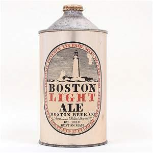 Boston Light Ale Quart Cone Top 203-16