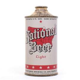 National Light BEER USA Map Cone 174-30