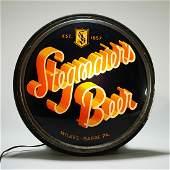 Stegmaier Beer Illuminated Gillco Button Light