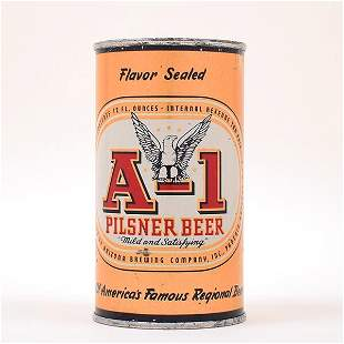 A-1 Pilsner OI 39 Beer Can 31-24