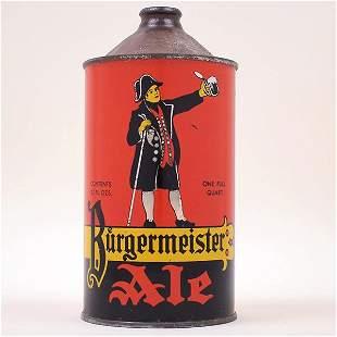 Burgermeister Ale Quart Cone 20416