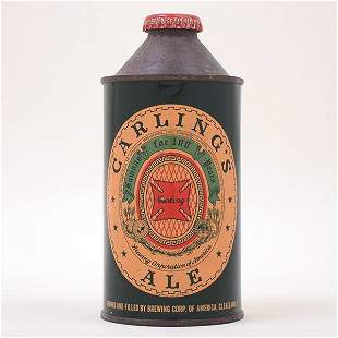 Carlings Ale Cone Top Can 15621