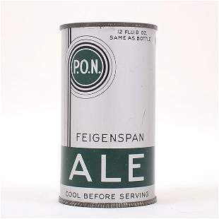 Feigenspan PON Ale Flat Top 6238